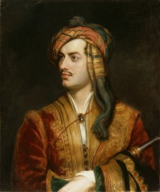 Lord Byron, a dangerous dandy