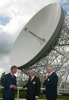 Prince Charles at Jodrell Bank Observatory
